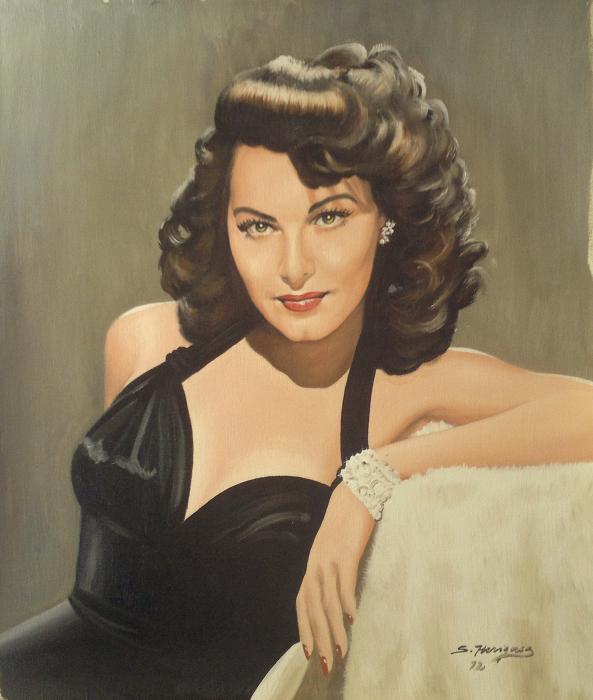 Ava Gardner by wisewyn